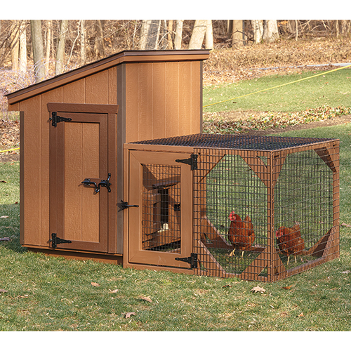 Lean-To L35 3x5 CHICKEN COOPS